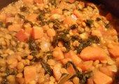 Lentil, Chard & Sweet Potato Stew