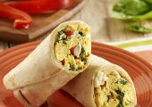 Low Calorie Egg Burrito