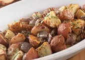 Roasted Potatoes With Red Onion