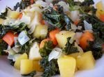 Kale with Root Vegetables