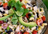 Herby Lime Pasta Salad