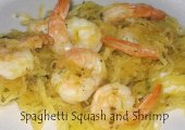 Spaghetti Squash And Shrimp