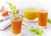 Orange, Carrot, & Celery Juice
