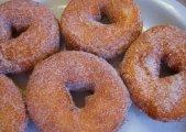 Apple Cider Spice Doughnuts
