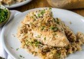 4 Ingredient Chicken And Rice Casserole
