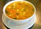Tibetan Corn Soup (Ashom Tang)