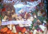 Savory Vegetable Beef Soup - Freezer