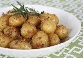 Garlic-Rosemary Roasted Baby Potatoes