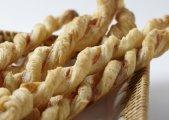 Prosciutto-Asiago Cheese Straws