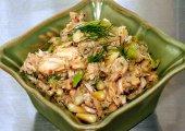 Dill-Pepperocini Tuna Salad