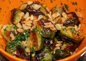 Momofuku Roasted Brussel Sprouts