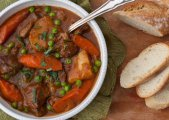 Guinness Lamb Stew With Vegetables